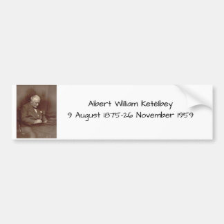 Autocollant De Voiture Albert William Ketelbey