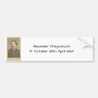Autocollant De Voiture Alexandre Dreyschock