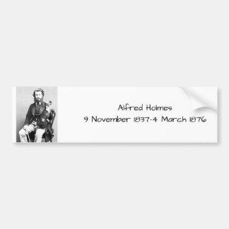 Autocollant De Voiture Alfred Holmes