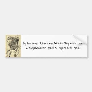 Autocollant De Voiture Alphons Johannes Maria Diepenbrock 1900