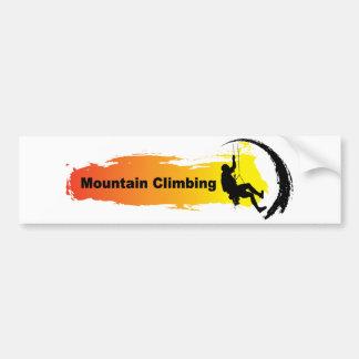 Autocollant De Voiture Alpinisme unique