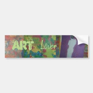 Autocollant De Voiture Amant d'art