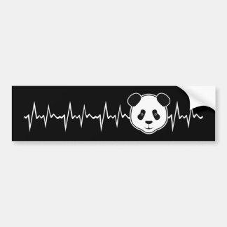 Autocollant De Voiture Amant de panda