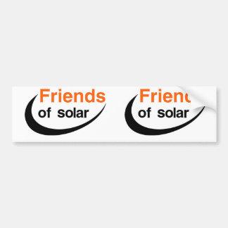 Autocollant De Voiture Amis de solaire