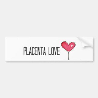 Autocollant De Voiture Amour de placenta