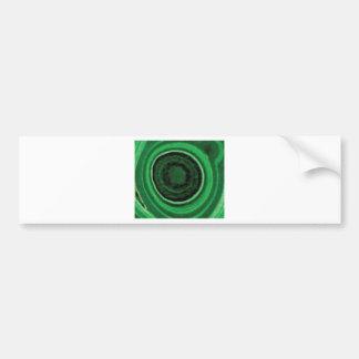 Autocollant De Voiture anneau vert noir