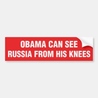 Autocollant De Voiture Anti adhésif pour pare-chocs d'Obama