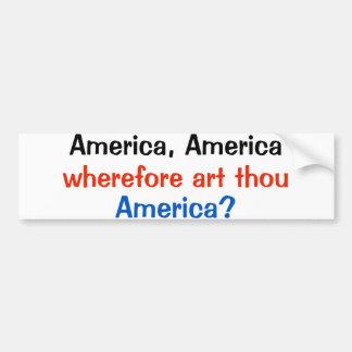 Autocollant De Voiture anti MILLE d'ART de l'AMÉRIQUE AMÉRIQUE d'atout