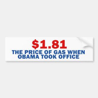 Autocollant De Voiture Anti Obama
