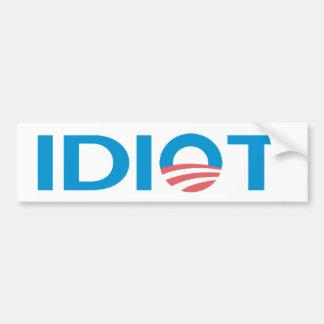 Autocollant De Voiture Anti Obama Bumperstickers