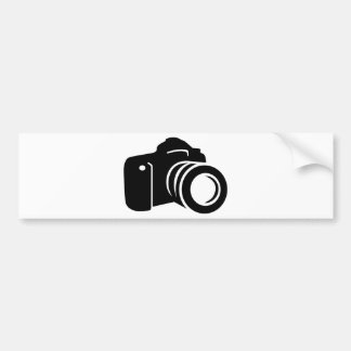 Autocollant De Voiture Appareil-photo réflexe de photo