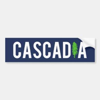 Autocollant De Voiture Arbre de Cascadia