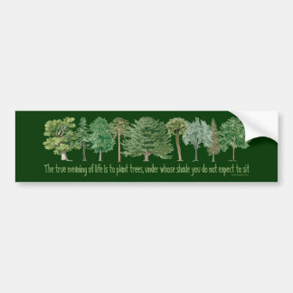 Autocollant De Voiture Arbres de plante - amant d'arbre, Hugger
