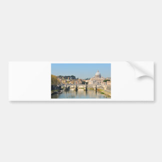 Autocollant De Voiture Architecture italienne à Rome, Italie