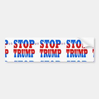 Autocollant De Voiture Arrêtez la politique républicaine StopTrump de GOP
