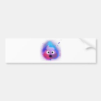Autocollant De Voiture Art de peinture de jet d'Emoji de dunette