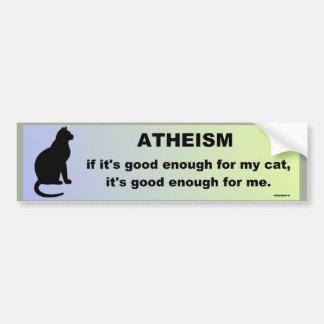Autocollant De Voiture athéisme