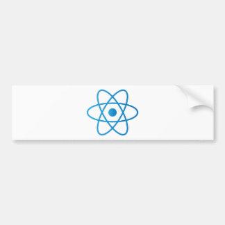Autocollant De Voiture Atome d'isolement par résumé