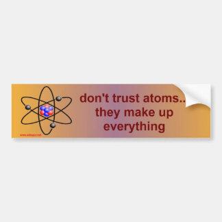 Autocollant De Voiture atomes