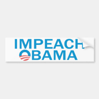 Autocollant De Voiture Attaquez Obama Bumpersticker