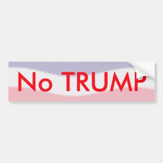 Autocollant De Voiture Aucun adhésif pour pare-chocs de Donald Trump