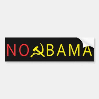 Autocollant De Voiture Aucun adhésif pour pare-chocs d'Obama