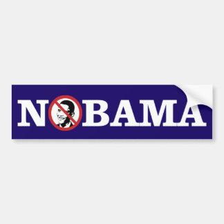 Autocollant De Voiture Aucun Obama Bumpersticker