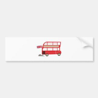 Autocollant De Voiture Autobus de Londres
