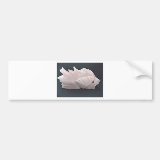 Autocollant De Voiture Avant mystérieux soutenu épineux side1 de poissons