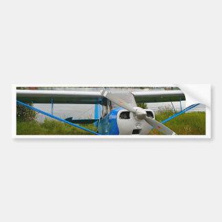 Autocollant De Voiture Avions à haute voilure, bleu et blanc, Alaska