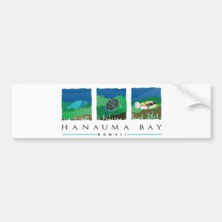 Autocollant De Voiture Baie d'Hawaï Hanauma
