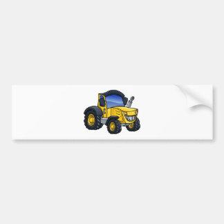 Autocollant De Voiture Bande dessinée de véhicule de tracteur