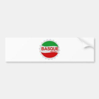 Autocollant De Voiture Basque Euskadi