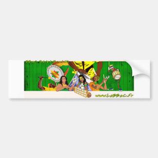 Autocollant De Voiture BBaC Stiker Samba Batucada Brasil