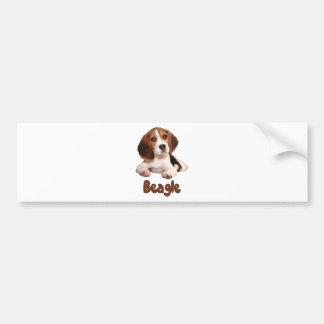 Autocollant De Voiture Beagle !