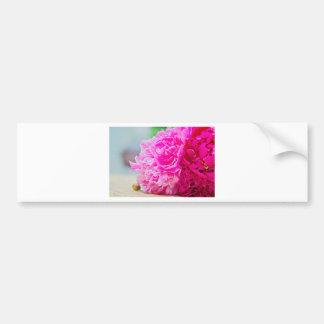 Autocollant De Voiture Beauté rose de pivoine