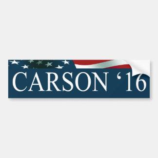 Autocollant De Voiture Ben Carson 2016