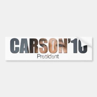 Autocollant De Voiture Ben Carson pour le Président adhésif pour