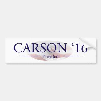 Autocollant De Voiture Ben Carson pour le Président Gifts