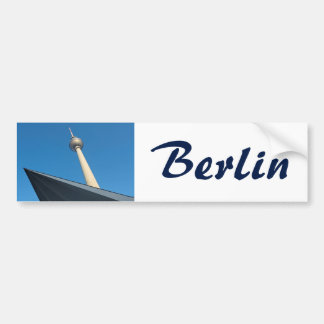 Autocollant De Voiture Berlin Fernsehturm