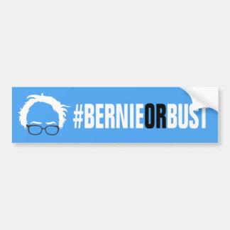 Autocollant De Voiture Bernie ou buste - ponceuses de Bernie pour le