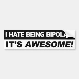 Autocollant De Voiture Bipolaire