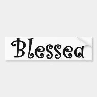 Autocollant De Voiture Blessed2