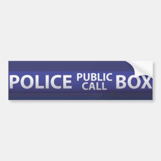 Autocollant De Voiture Boîte de police