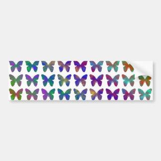 Autocollant De Voiture Bonheur de papillon