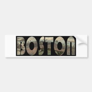 Autocollant De Voiture boston1850
