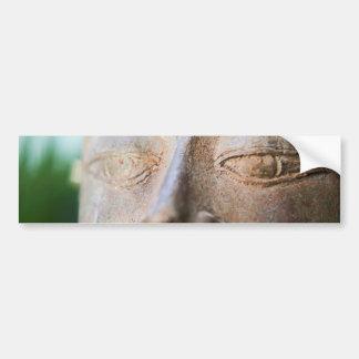 Autocollant De Voiture Bouddha font face