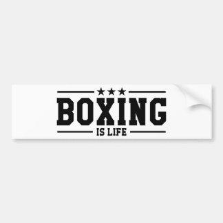 Autocollant De Voiture Boxing Boxer Boxen Boxe Fight Figher