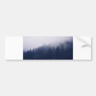 Autocollant De Voiture Brouillard de forêt