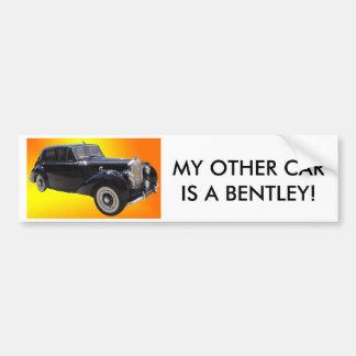 Autocollant De Voiture Bumpersticker classique de Bentley